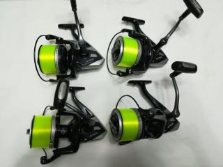 4 mulinete pentru pescuit cu tambur de 9000