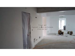Amenajari/renovari interioare glet, tinci zugraveli , tencuiala decorativa