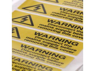 Etichete avertizare indicatoare