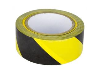 Banda adeziva pentru marcare alb/rosu sau galben/negru