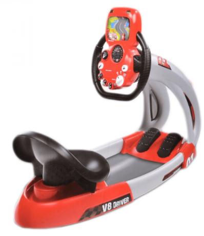 simulator-auto-pentru-copii-v8-smoby-2-viteze-big-2