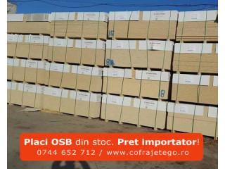 Placi OSB din stoc sau la comanda. Pret importator direct