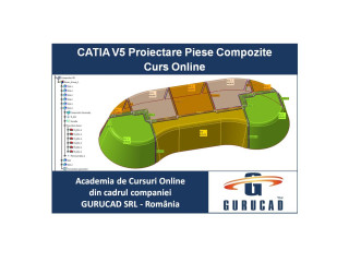 CATIA V5 Curs Online Proiectare Piese Compozite