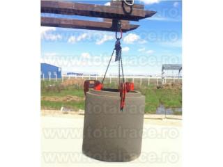 Clesti de ridicat tuburi beton pentru canalizare Total Race